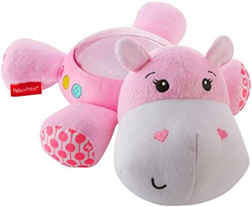 Fisher-Price Pink Hippo Soother - Proyector 3 en 1