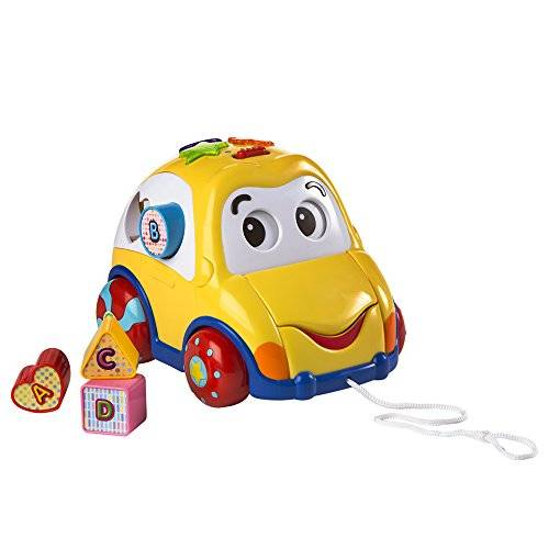 WinFun - Winfun, arrastre coche musical (Colorbaby 40937)