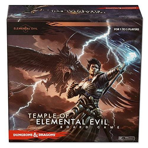 WizKids Dungeons and Dragons Temple of Elemental Evil Board Game