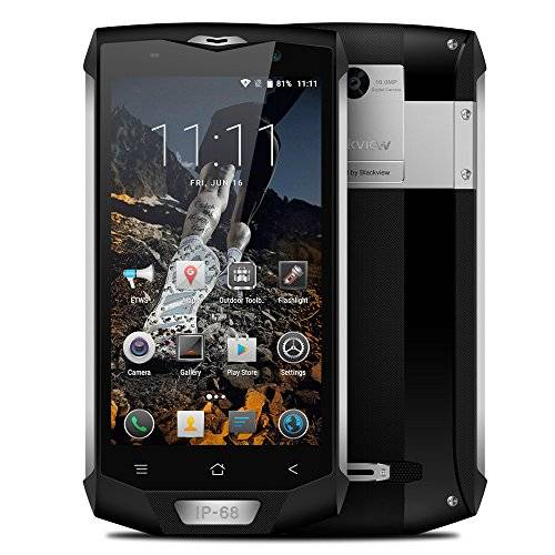 Blackview BV8000 Pro Smartphone IP68 Impermeable 4G LTE a Prueba de Choques Polvo (Android 7.0, Pantalla 5.0
