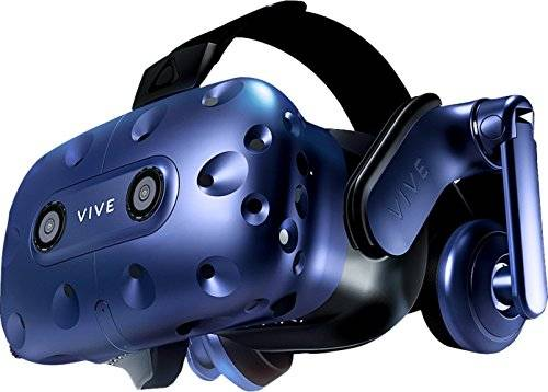 HTC VIVE Pro HMD only Enhanced Optics Optimized Ergonomics High-Res Soundstage *With limited time offer of 6-month VIVEPORT Subscription. **VIVE Pro HMD does not include controllers, base stations or VIVE wireless adapter. Test Your PC