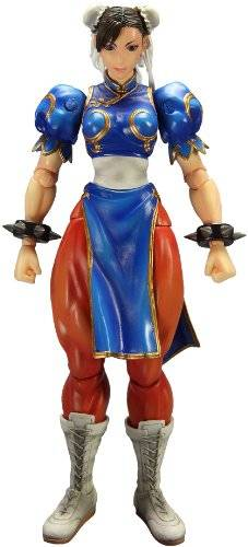 Koch International Super Street Fighter IV - FIgura Play Arts Kai Chun-Li