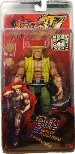 STREET 99 Action Figur Street Fighter 4 Guile (In Charlie Costume) Sdcc Exclusive [Importación Alemana]