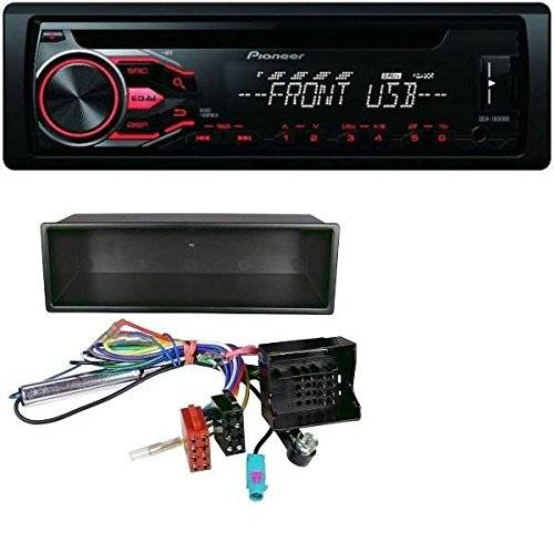 Pioneer - Radio CD, MP3, USB, AUX, para Citroen C2, C3 Jumpy, Peugeot 207 y 307 Expert