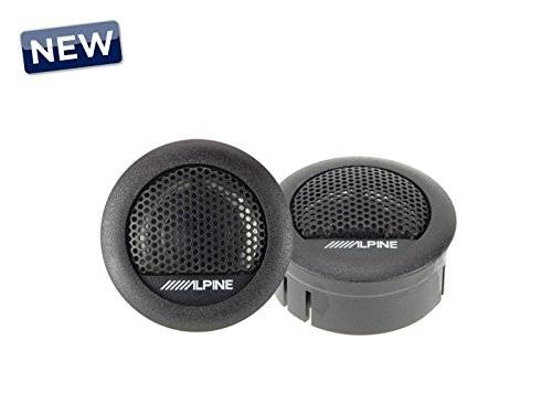 Alpine SXE 1006TW - Altavoces (280 W, 45 W RMS, 6 dB/oct, 4 kHz - 20 kHz, 88 dB SPL), color gris