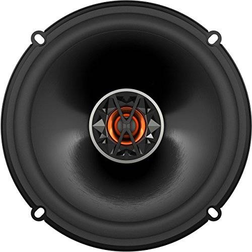 JBL Club 6520 - Altavoces coaxiales de automóvil (150 W RMS, 160 mm, membrana Plus One), color negro