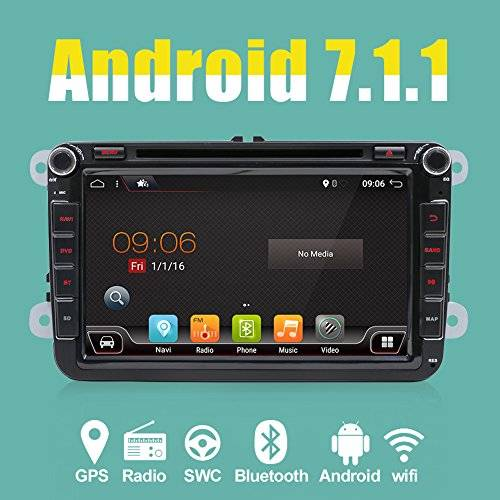 KC Navigation 4-Core Android 7.1 2-DIN 8