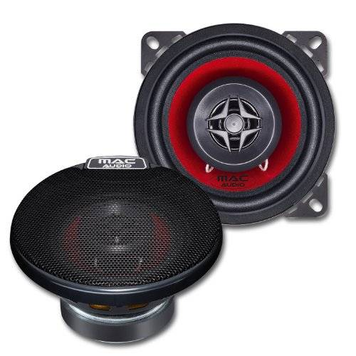 Mac Audio D1104760 - Altavoces de 2 vías, color negro