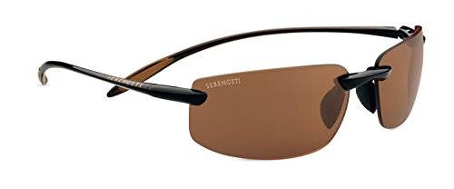 Serengeti Eyewear Sonnenbrille Lipari Vialone Eye - Gafas de sol, color marrón brillante (shiny brown), talla M