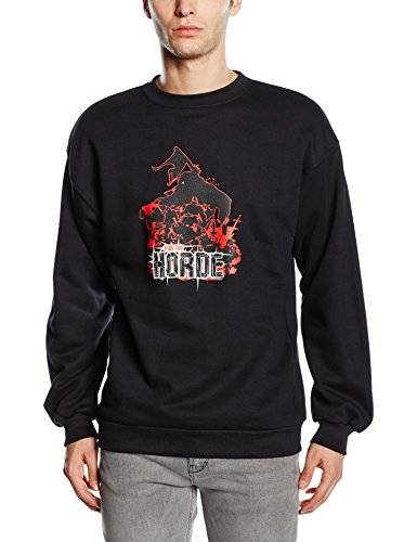 GamersWear Sweater FOR THE HORDE black Gr.M [Importación Alemana]