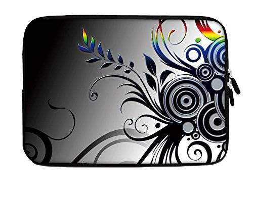 Ektor Luxburg 20.07 cm iPad Mini Funda de neopreno Funda para Tablet PC Rainbow Leaves