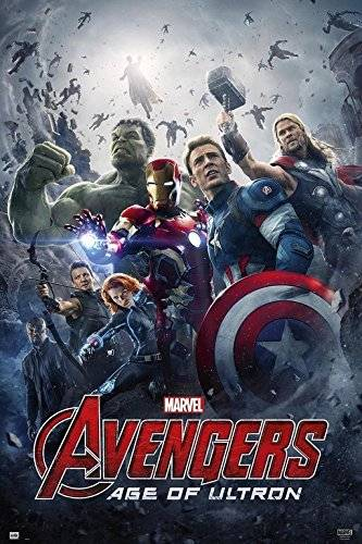 Grupo Erik Editores   Poster Marvel Avengers Age Of Ultron Official Cartelera