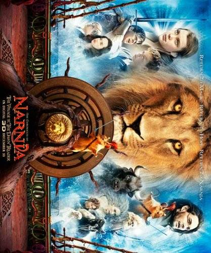 Decorative Wall Poster The Chronicles of Narnia: The Voyage of the Dawn Treader Poster (11 x 14 Inches - 28cm x 36cm) (2010) Style A