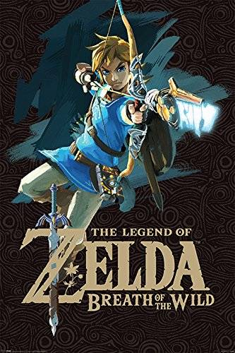 Pyramid Grupo Erik Editores   Poster Zelda Breath Of The Wild Game Cover
