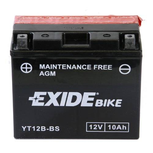 Exide Motorcycle Battery (YT12B-BS)