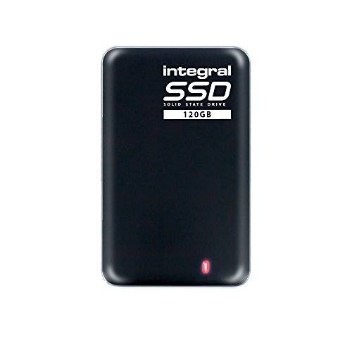 Integral - Disco duro portátil (USB 3.0) 120 GB