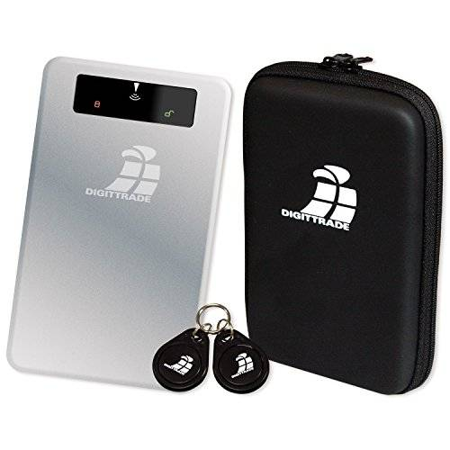 Digittrade RS256 RFID Security - Disco duro externo de seguridad 120 GB