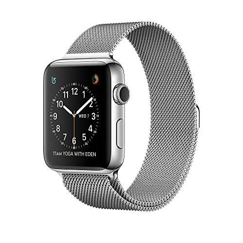 Apple A.WATCH S.2 38MM ACERO C.MILANESSE PLATA