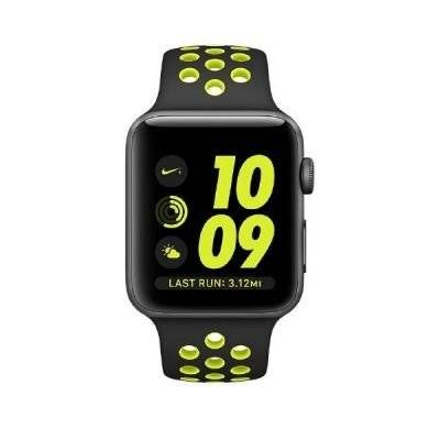 Apple Watch S2 Nike+ - Reloj inteligente, 42 mm, color gris espacial