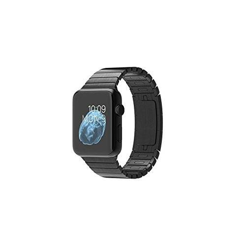 Apple Watch 42 mm (1ª Generación) - Smartwatch iOS con caja de acero inoxidable en negro espacial (pantalla 1.5