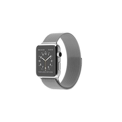 Apple Watch - relojes inteligentes (Acero inoxidable, Rectangular, Ión de litio, Acero inoxidable, Acero inoxidable, Acero inoxidable)