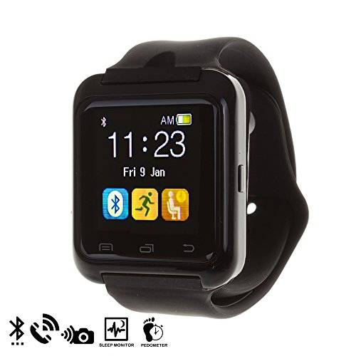 DAM - U80 Bluetooth Watch Black
