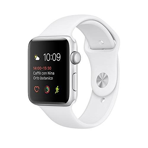 Apple Watch Series 2 42mm Caja Aluminio Correa Deportiva Blanca