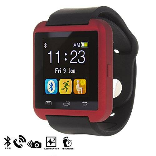 DAM - U80 Bluetooth Watch Red