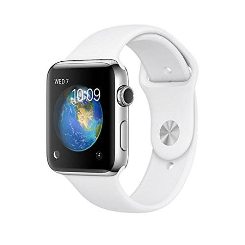 Apple A.WATCH S.2 42MM ACERO C.SPORT BLANCA