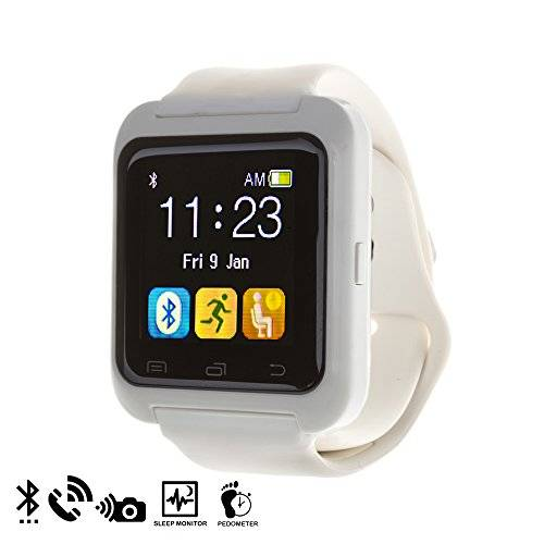 DAM - U80 Bluetooth Watch White