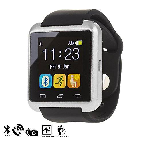 DAM U80 Bluetooth Watch Silver