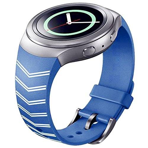 Tabcover® for Gear S2 SM-R720 / SM-R730 Watch Correa,Soft Silicone Replacement Watch Correa for Samsung Gear S2 SM-R720 / SM-R730 Smart Watch
