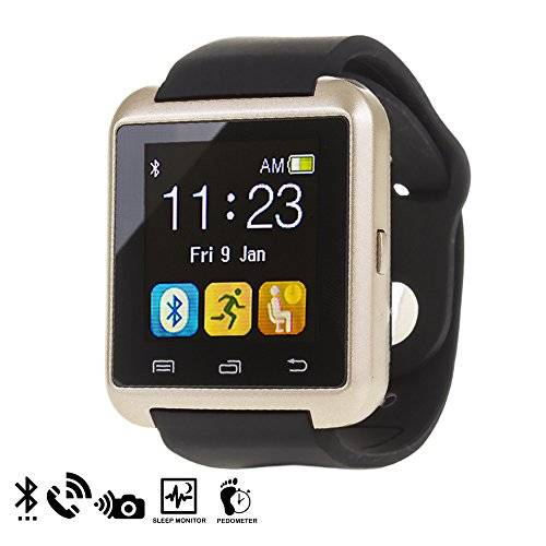 DAM U80 Bluetooth Watch Gold