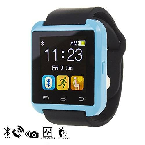 DAM - U80 Bluetooth Watch Blue
