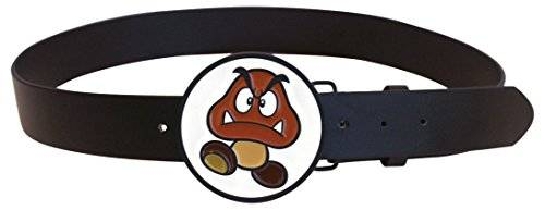 Bioworld Super Mario Belt Goomba Buckle With Multicolor-M