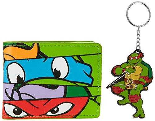 Mutant Teenage Mutant Ninja Turtles Monedero BIO-XW15RTTMT Verde