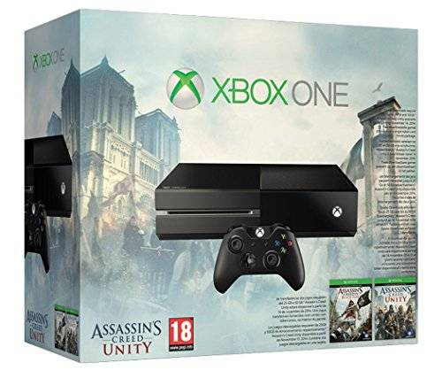 Microsoft Xbox One Console with Assassin's Creed Unity & Black Flag [Importación Inglesa]