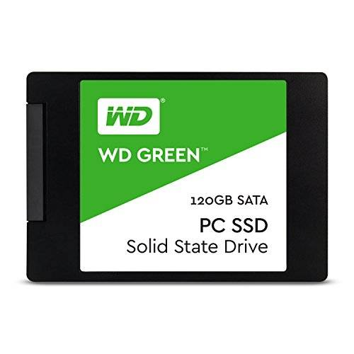 Western Digital WD Green PC SSD - Disco duro sólido de 120 GB (Serial ATA III, SLC, 2.5