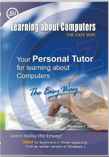 Ezway Learning About Computers the Easy Way: Windows 7 edition (PC/Mac DVD)