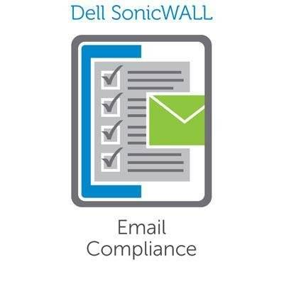 Dell SonicWALL Email Compliance Subscription - 50 Users - 1 Server - 1 Year 50usuario(s) Inglés - Seguridad y antivirus (50)