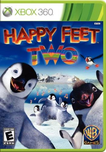 Warner Bros Happy Feet Two - cajas de video juegos y accesorios