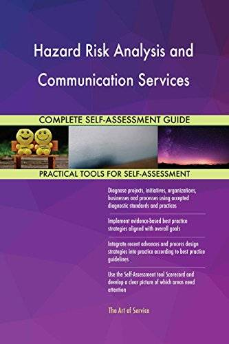 ART Hazard Risk Analysis and Communication Services All-Inclusive Self-Assessment - More than 640 Success Criteria, Instant Visual Insights, Spreadsheet Dashboard, Auto-Prioritized for Quick Results