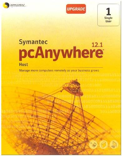 Symantec Pcanywhere 12.1 Host upgrade - Software de licencias y actualizaciones (35 MB, - CD or DVD drive - CD writer/burner or ISO image reading application (electronic purchases only), 128 MB, - Windows Vista (Home Basic, Home Premium, Business, Enterpr