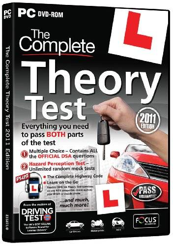 Focus The Complete Theory Test 2011 Edition (PC) [importación inglesa]