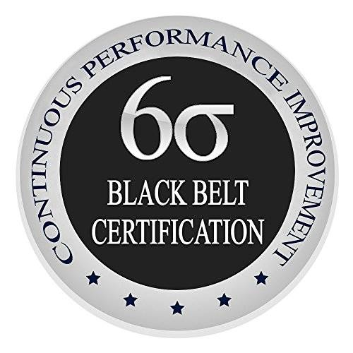 Veritastech Learn Lean Six Sigma Black Belt The Easy Way Finally, Certification & Training Course, Get Trained & Certified Now Finally