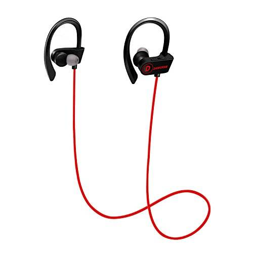 DAMIGRAM Auriculares Inal¨¢mbricos Bluetooth, Auriculares (Red)