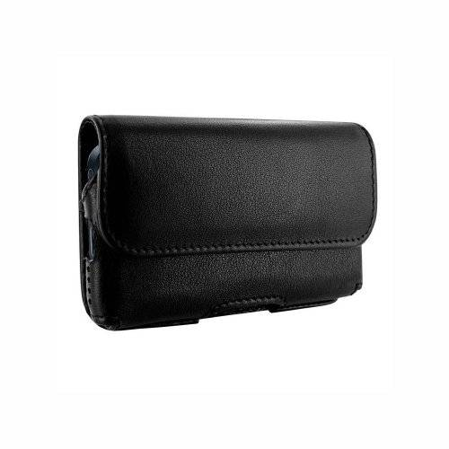 Piel Frama iPhone 5/5S/SE Horizontal Pouch Leather Case - Black