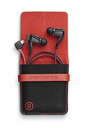 Plantronics Backbeat Go 2 - Auriculares in-ear (Bluetooth), negro