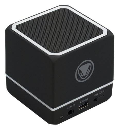 Import Europe Sunflex - Snakebyte Audio Cube, Bluetooth, Color Negro (Smartphone, iPod, iPhone)