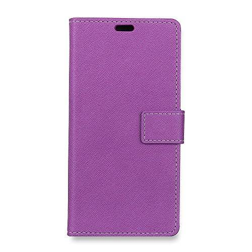 CaseFirst Lenovo K8 Note Flip Cover, Case, New Card Slot [Stand Feature] Leather Wallet Case Vintage Book Style Magnetic Protective Cover Holder for Lenovo K8 Note - Purple